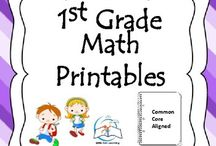 1st Grade Math Printables {Common Core Aligned} / 1st Grade Math Printables {Common Core Aligned}. This Back to School Bundle has everything that you need to get another year of First Grade Math off to a great start!