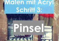 Malen mit Acryl: Tips