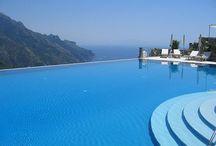 Infinite swimming pools