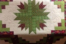 Christmas quilts.