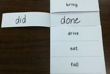 irregular verb foldable