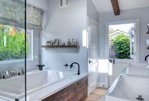 HOME - Bathroom / by Miranda Fleming