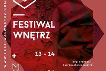 Festiwal Wnętrz / Do wygrania 10 wejściówek na Festiwal. Więcej na moim facebook'u  www.facebook.com/ciekawewnetrzalodz