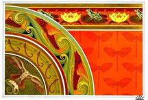 Art Nouveau / My favourite style. Love it, mad about it.