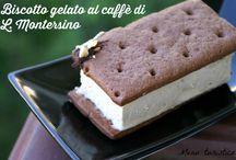 Gelato biscotto / Con semifreddo al caffè