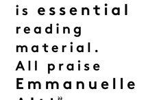 Words / by Raissa Herrera