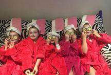 children's spa parties