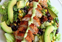 Earls Santa fe salad