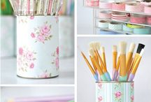 ⭐️Craft Room Dreams⭐️ / Ideas for organisation, decor, furniture and pretty things