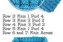 fulare tricotate