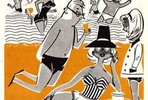 mid century illustrators
