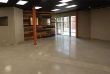 200 Grit Polished Concrete