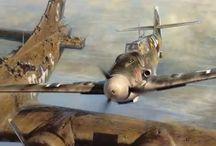 2nd WAR Airplanes & Tank