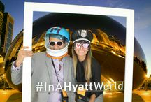 #InAHyattWorld at IPW2014 / #InAHyattWorld, Chicago landmarks come to you!