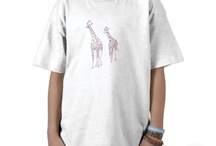 Shirts - Outline designs for coloring / Shirts with drawings on them that kids of all ages can color, paint in.