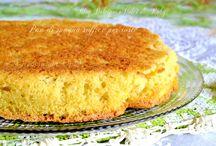 Pan di Spagna base per torte - rotoli - merendine