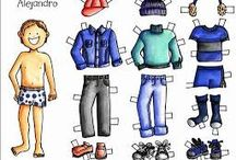 Muñecos para vestir