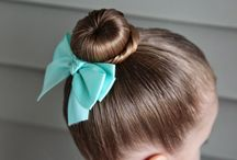 toddler's hair and fashion