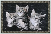 Domestic Cat Designs / All kinds of our little feline friends!   #CatDesigns