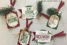 Stampin Up - Merry  Little Labels