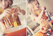 Baking shoot kids