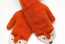 Neulotut / Knitting