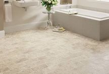 Bathroom Flooring / Flooring that is suitable for bathrooms as it is water resistant.  Can be supplied & fitted in Edinburgh & the Lothians by Affordable Flooring - http://www.floorcovering-edinburgh.com