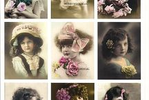 vintage obrazky