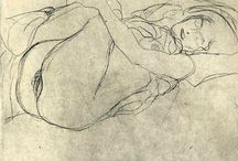 Klimt, Gustav - Desenho /Drawing