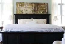 cool bedrooms and paint colors / by Lisa Weiler