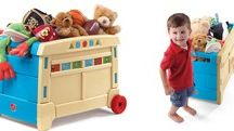 Toy storage / Toy storage bench, toy boxes, and children's loft beds with storage.  / by BIGTOYexpress