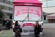 Bessie The Bus / Bessie the bus is touring the country to bring you the latest fashion to your doorstep. With over 250 stops, look out for Bessie in a neighbourhood near you - bessiethebus.com #BessieTheBus