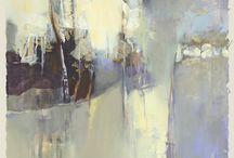 landscapes-abstract/mixed media