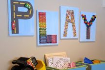 Basement Playroom / Ideas to spruce up the basement  / by Bethany Kerley