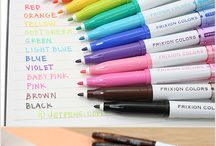 Pens for planner addicts / Favorite pens for planner addicts - color coding, black pens, highlighters - reviews of every type and brand of planner pen - Inkjoy, papermate, frixion, erasable, typo, atlantis, staedtler, triplus, gel, rollerball, ink, ballpoint etc.!