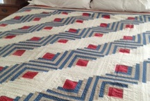 Quilts Red & White / by Lady Quilter