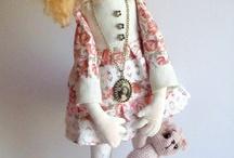 Роспись шитой куклы