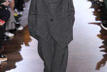Power dressing / Мужественность в одежде: костюмы-тройки, двубортные пиджаки, мужские классические пальто, мужские ботинки, сочетание рубашки и галстука