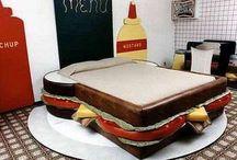 ilginc yatak odalar