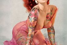 Art of Burlesque and Pinups / by Linda Percival