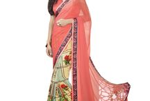 Lalgulal-Printed Saree
