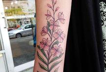 fireweed tattoo
