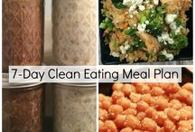 Healthy Meal Plans / Make meal planning easier with these Healthy Meal Plans.  I post more healthy eating ideas, recipes and menu plans on beachreadynow.com.  #cleaneating #menuplans #healthyeating
