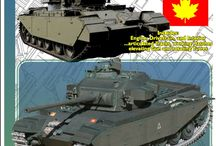 Centurion Tank / Mainly a board for pics of my 1/16 scale Centurion Mk5 Paper Model. But also cool pics of Centurions.