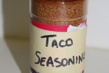 Seasonings, herbs and spices