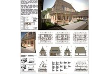 Rustic house plans - Romania Maramures