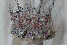 Beautiful Crowns and Beaded Tiaras