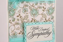 sympathy cards / by Marilyn Hunt