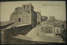 agrigento cattedrale / immagine d'epoca della cattedrale di san gerlando ad agrigento