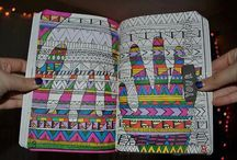 coloring book it! / by Rebecca Havenstein-Coughlin